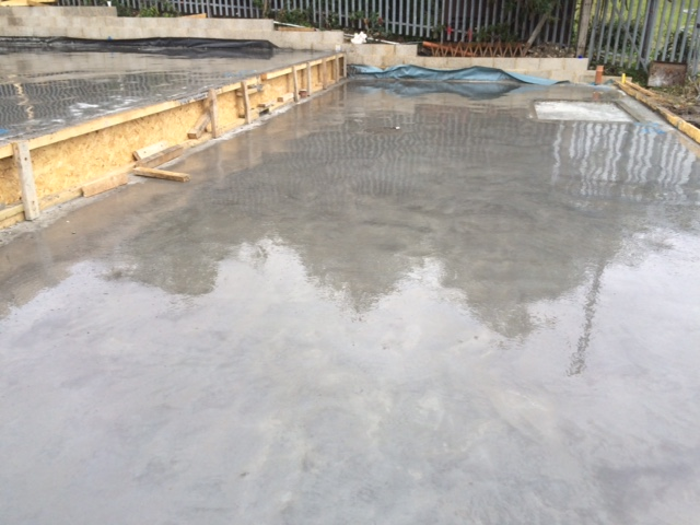 ground floor slab, greenwich, london